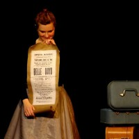 Amber Bjork in Boyd Girls for Sandbox Theatre's Suitcase (2013)
