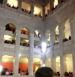 City Hall on Marriage Equality Night